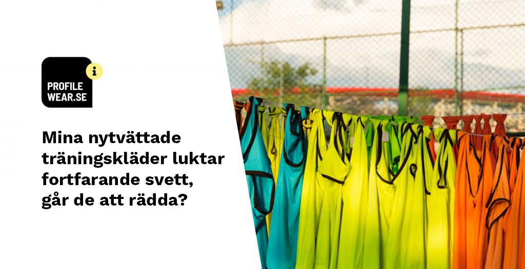 Varför luktar polyester kläder efter tvätt  och hur får man bort lukten?