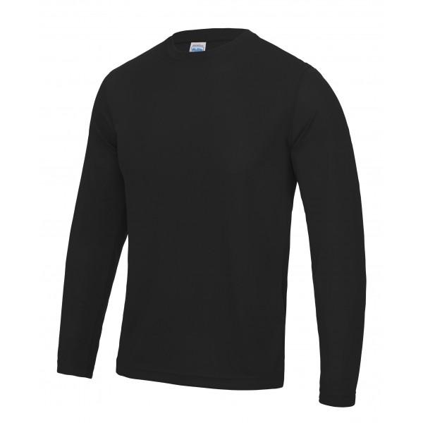 Långärmad Polyester T-shirt Herr