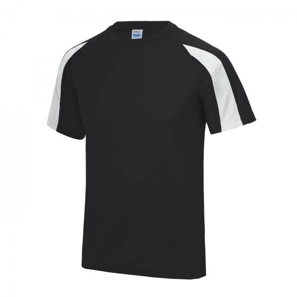 Kontrast T-shirt Polyester Barn