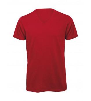 Ekologisk V-ringad T-shirt