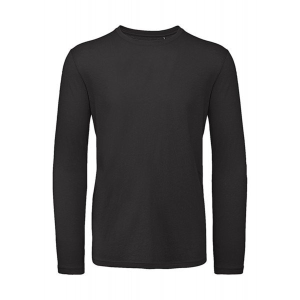 Ekologisk Långärmad T-shirt - Svart