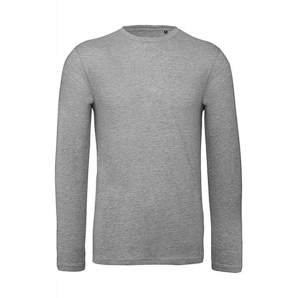 Ekologisk Långärmad T-shirt - Grå