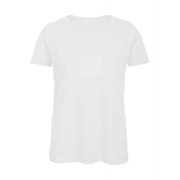 Ekologisk Dam T-shirt - Vit