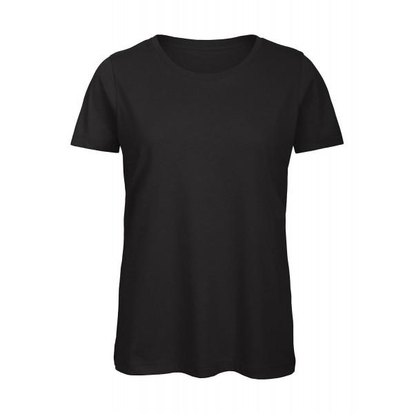 Ekologisk Dam T-shirt - Svart