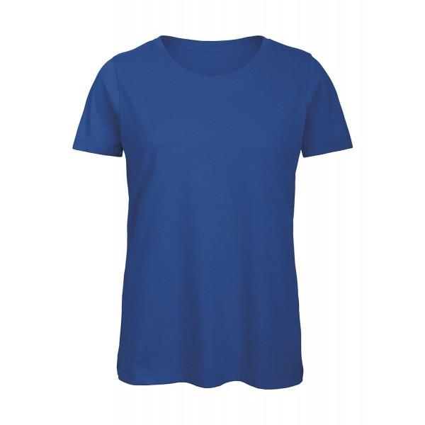 Ekologisk Dam T-shirt - Kungsblå