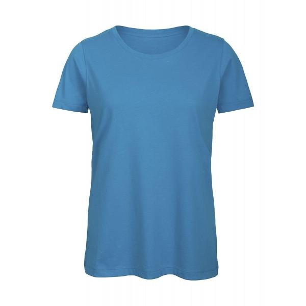 Ekologisk Dam T-shirt - Atollblå