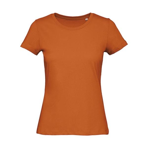 Ekologisk Dam T-shirt - Apelsin