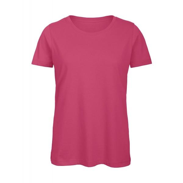 Ekologisk Dam T-shirt - Fuchsia