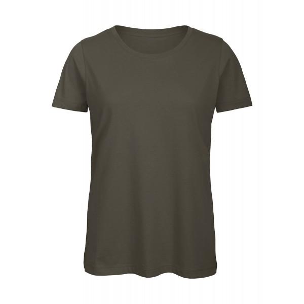 Ekologisk Dam T-shirt - Khaki