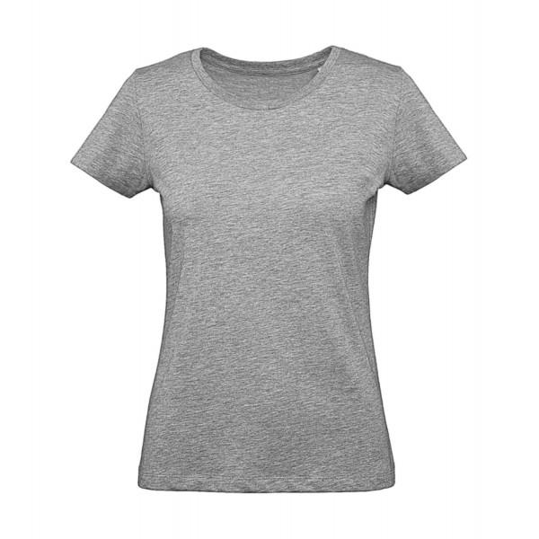 Ekologisk Dam Plus T-shirt - Grå