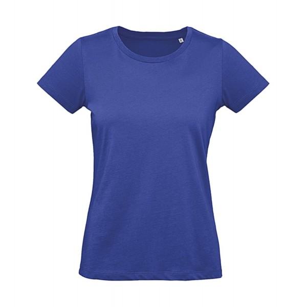 Ekologisk Dam Plus T-shirt - Blå