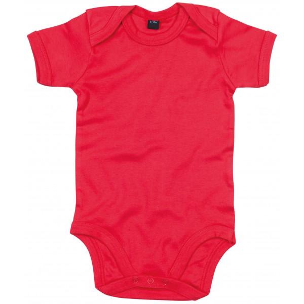 Kortärmad Babyställ - Röd