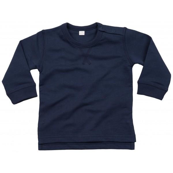 Baby Sweatshirt - Marinblå