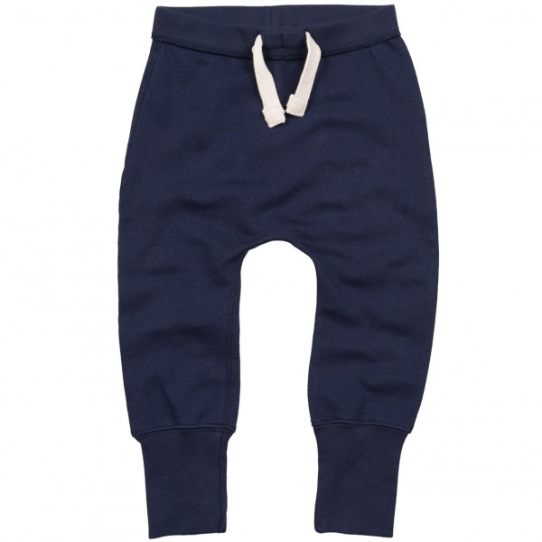 Baby Mjukisbyxor - Marinblå