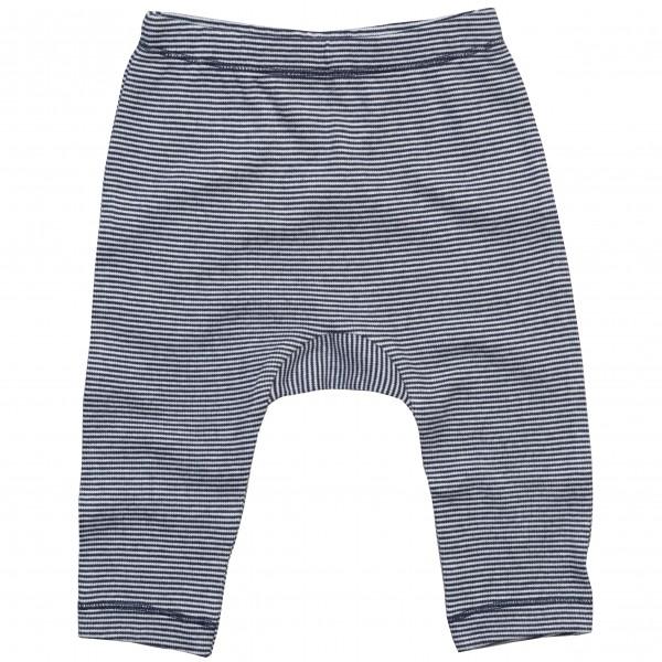 Randiga Baby Leggings  - Vit / Marinblå