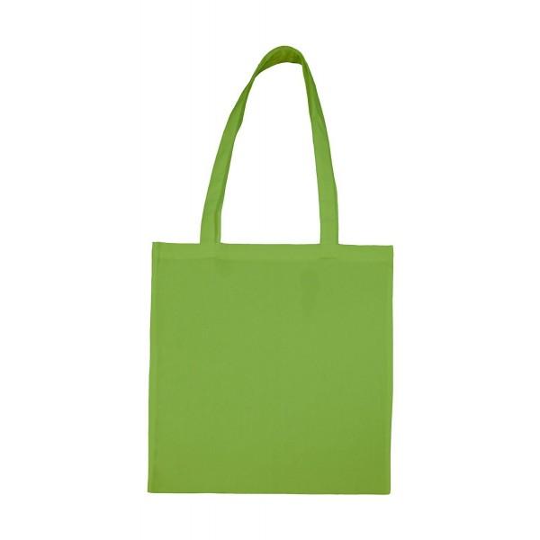 Enkel Bomullskasse med  Långa Handtag - Ljus Grön