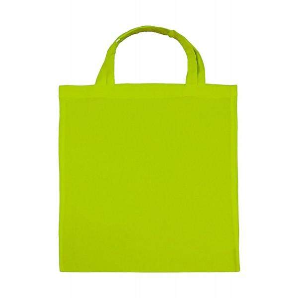 Tygkasse i Bomull - Lime Grön