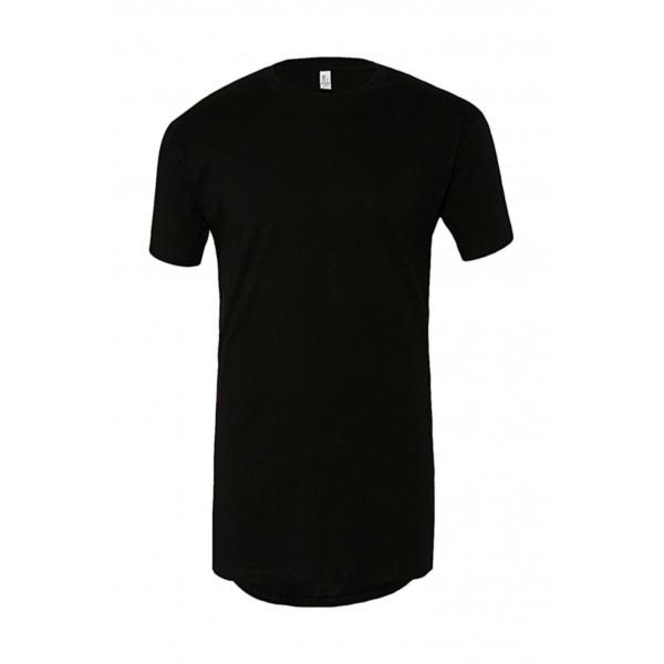 Lång T-shirt - Svart