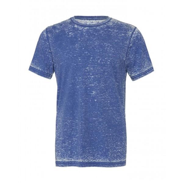 Modern Unisex T-shirt - Kungsblå syratvättad