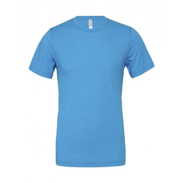 Modern Unisex T-shirt - Neon Blå