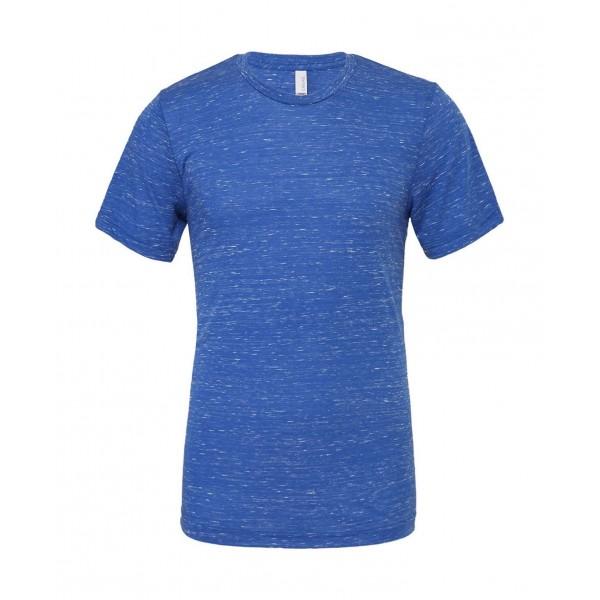 Modern Unisex T-shirt - Kungsblå Marmor