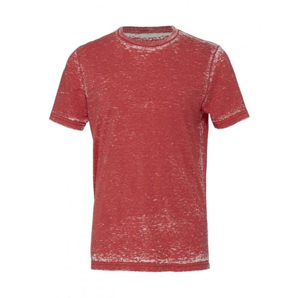 Modern Unisex T-shirt - Röd syratvättad