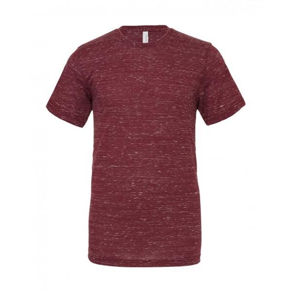 Modern Unisex T-shirt - Rödbrun Marmor
