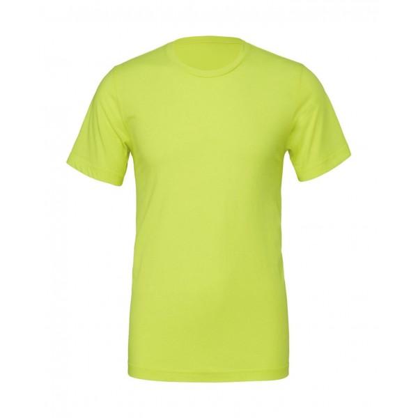 Modern Unisex T-shirt - Neon Gul