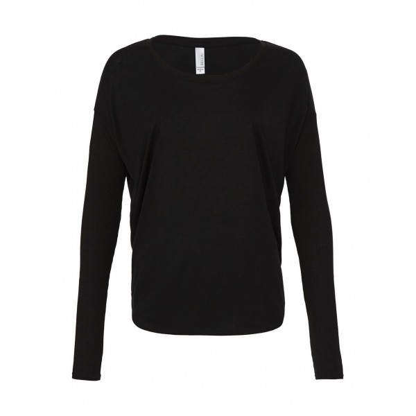 Böljande T-shirt - Svart