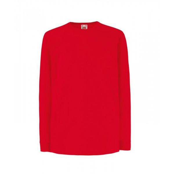 Långärmad Barn T-shirt Valueweight