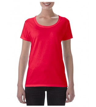 Djupt Urringad T-shirt