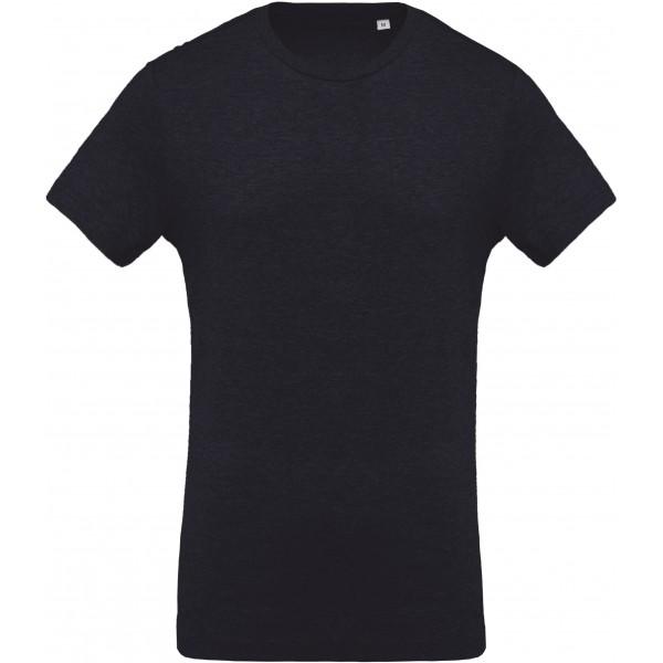 Organisk T-shirt - Fransk Marinblå