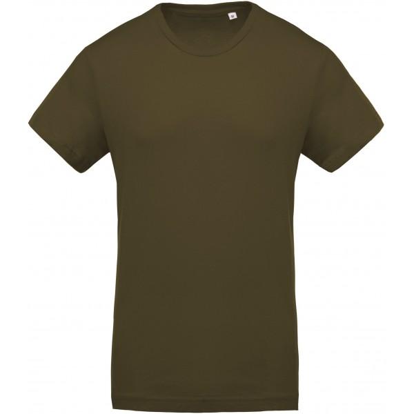 Organisk T-shirt - Mossgrön