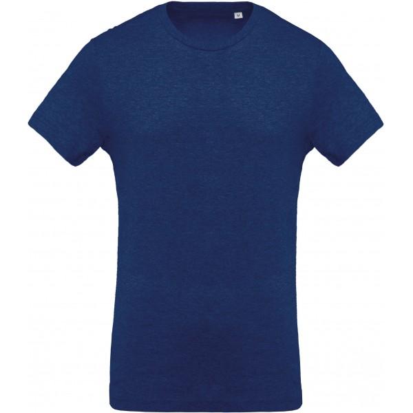 Organisk T-shirt - Havsblå