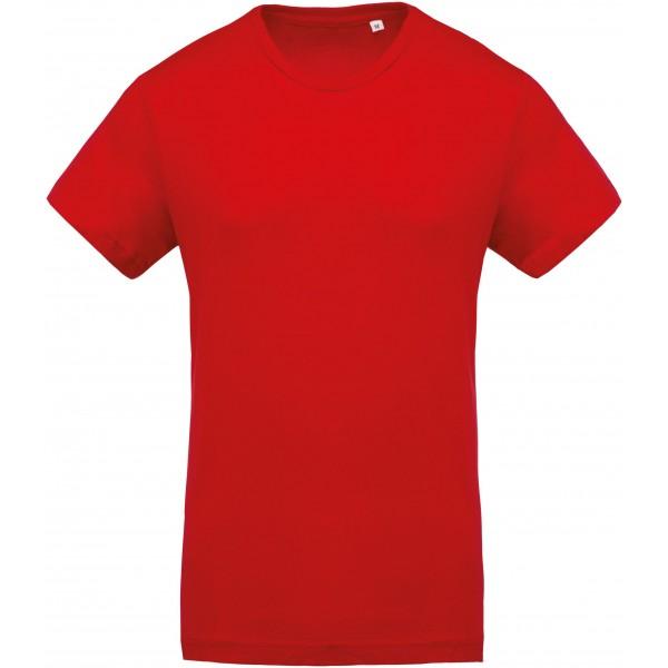 Organisk T-shirt - Röd