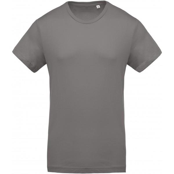 Organisk T-shirt - Stormgrå