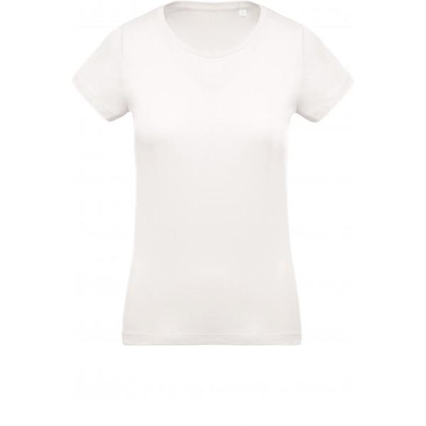 Organisk Dam T-shirt - Gräddvit