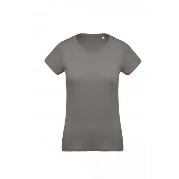 Organisk Dam T-shirt - Stormgrå