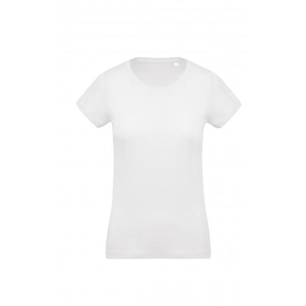 Organisk Dam T-shirt - Vit