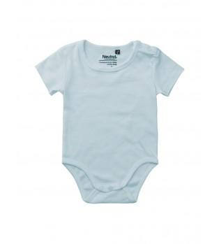 Ekologisk Babybody med korta ärmar
