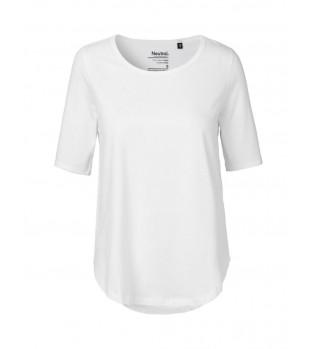 Ekologisk Dam T-shirt med halvlång ärm