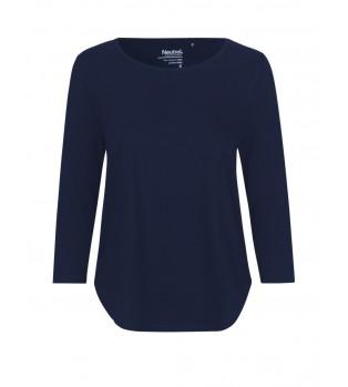 Ekologisk Dam T-shirt med 3/4 ärm