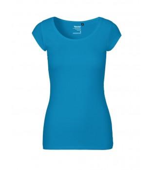 Ekologisk Dam T-shirt rund hals