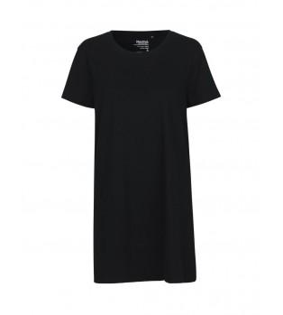 Ekologisk Dam T-shirt i lång modell