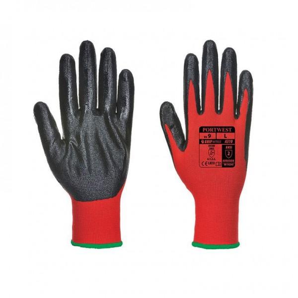 Nitrilbelagd Handske med Flexibelt Grepp