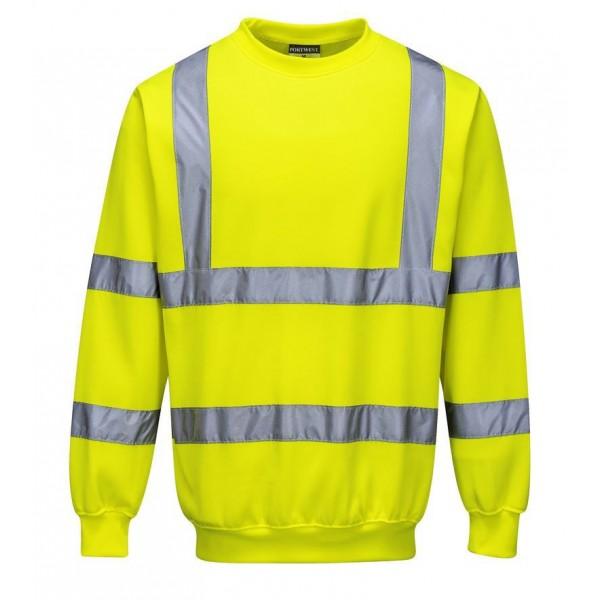 Billig Varsel Sweatshirt - Gul