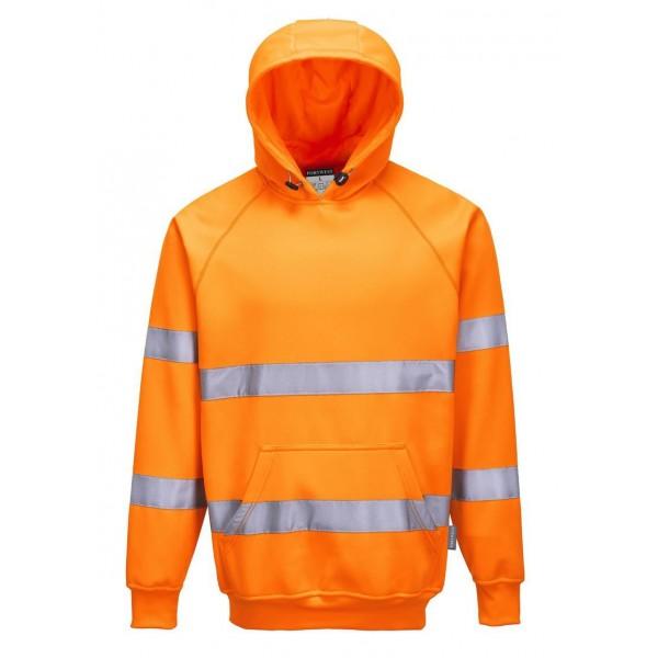 Billig Varsel Hoodie - Orange