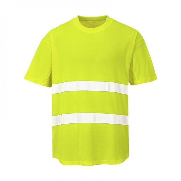 Varsel T-shirt med Ventilation Funktion