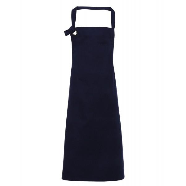 Snyggt Förkläde i Tung Bomullscanvas - Marinblå
