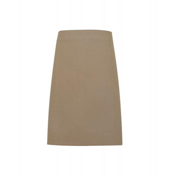 Midjeförkläde i kraftig Bomullscanvas - Khaki